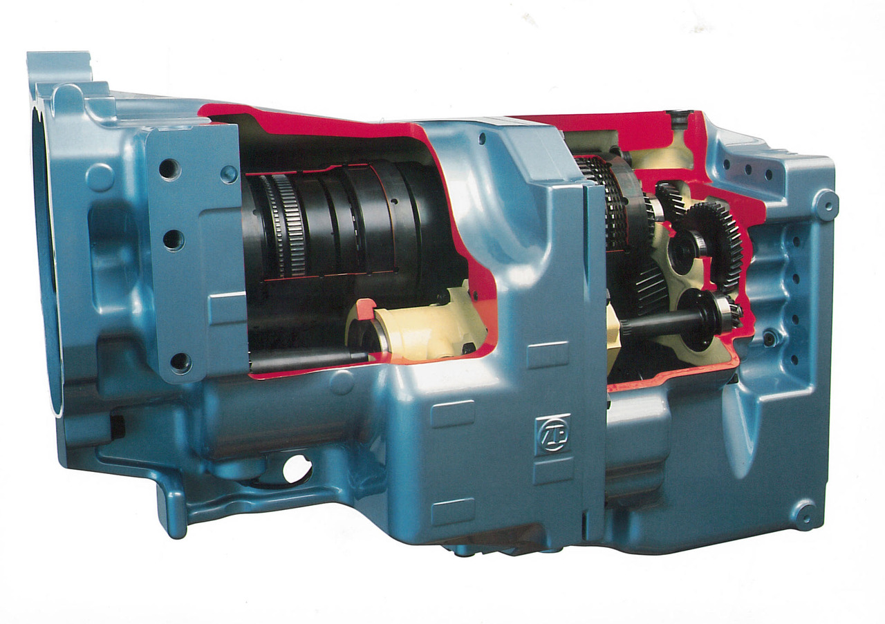 [Deutz-Fahr] trasmissione ZF ECCOM 1.5 montata sui trattori TTV