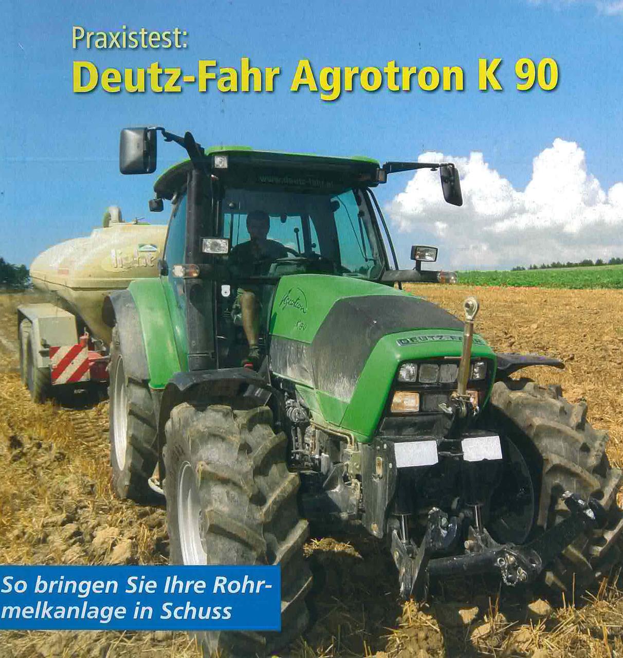 Praxitest: Deutz- Fahr AGROTRON K 90