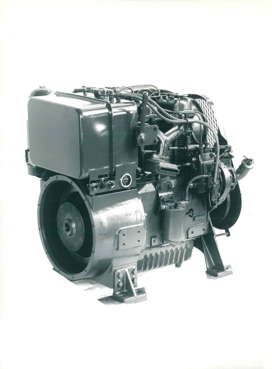Motore DA 1152 a 2 cilindri
