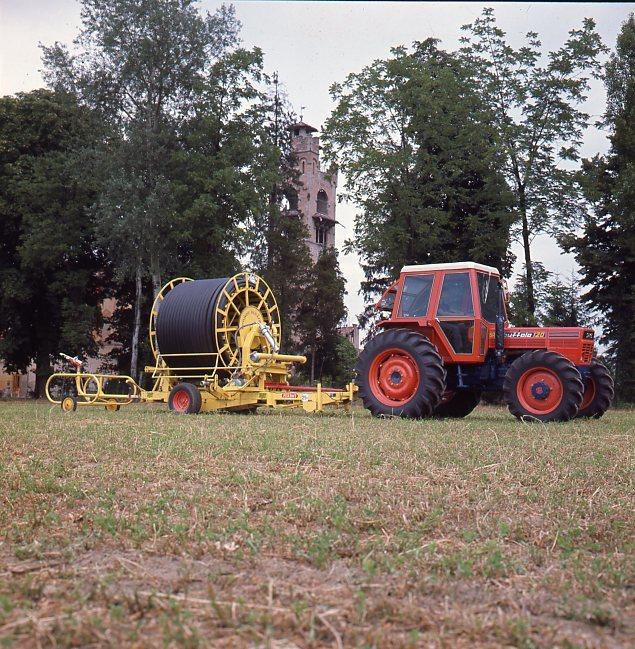 [SAME] trattore Buffalo 120 con apparecchiatura per irrigazione a pioggia
