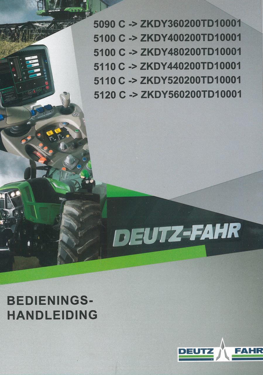 5090 C ->ZKDY360200TD10001 - 5100 C ->ZKDY400200TD10001 - 5100 C ->ZKDY480200TD10001 - 5110 C ->ZKDY440200TD10001 - 5110 C ->ZKDY520200TD10001 - 5120 C ->ZKDY560200TD10001 - Bedienings-handleiding