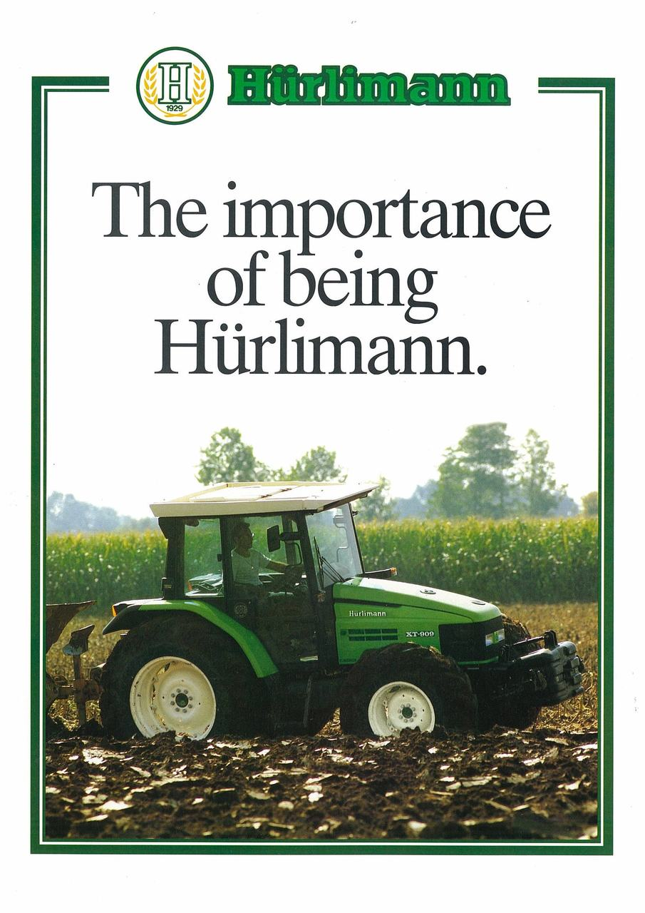 The importance of being Huerlimann