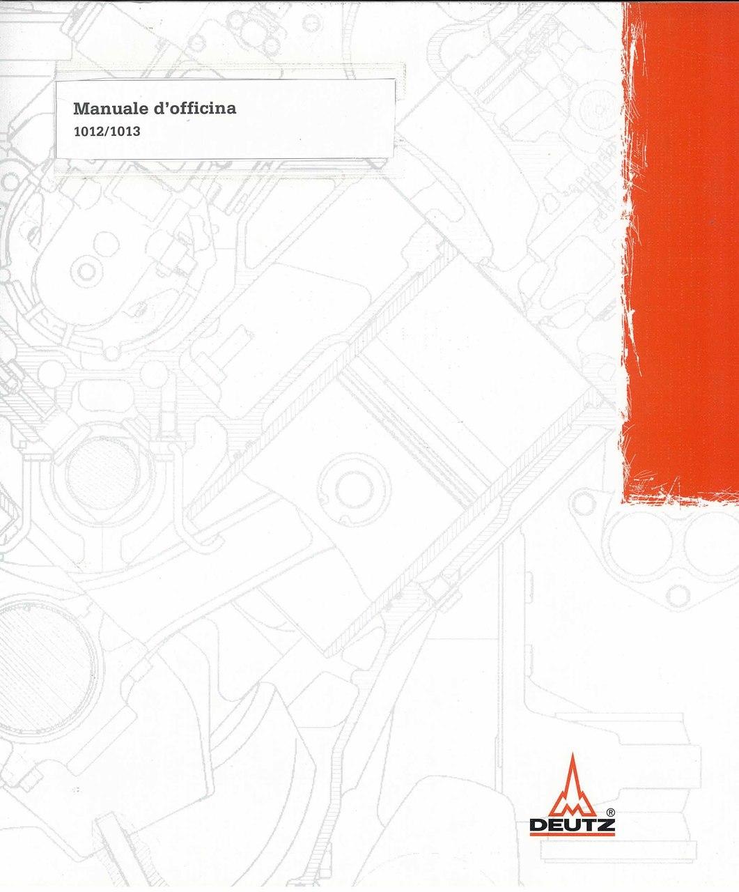 BFM 1012-1013 - Werkstatthandbuch / Workshop Manual / Manuel d'Atelier / Manuale d'officina