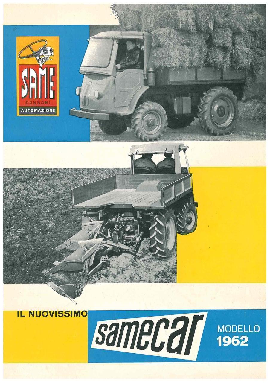 Il nuovissimo SAMECAR Modello 1962