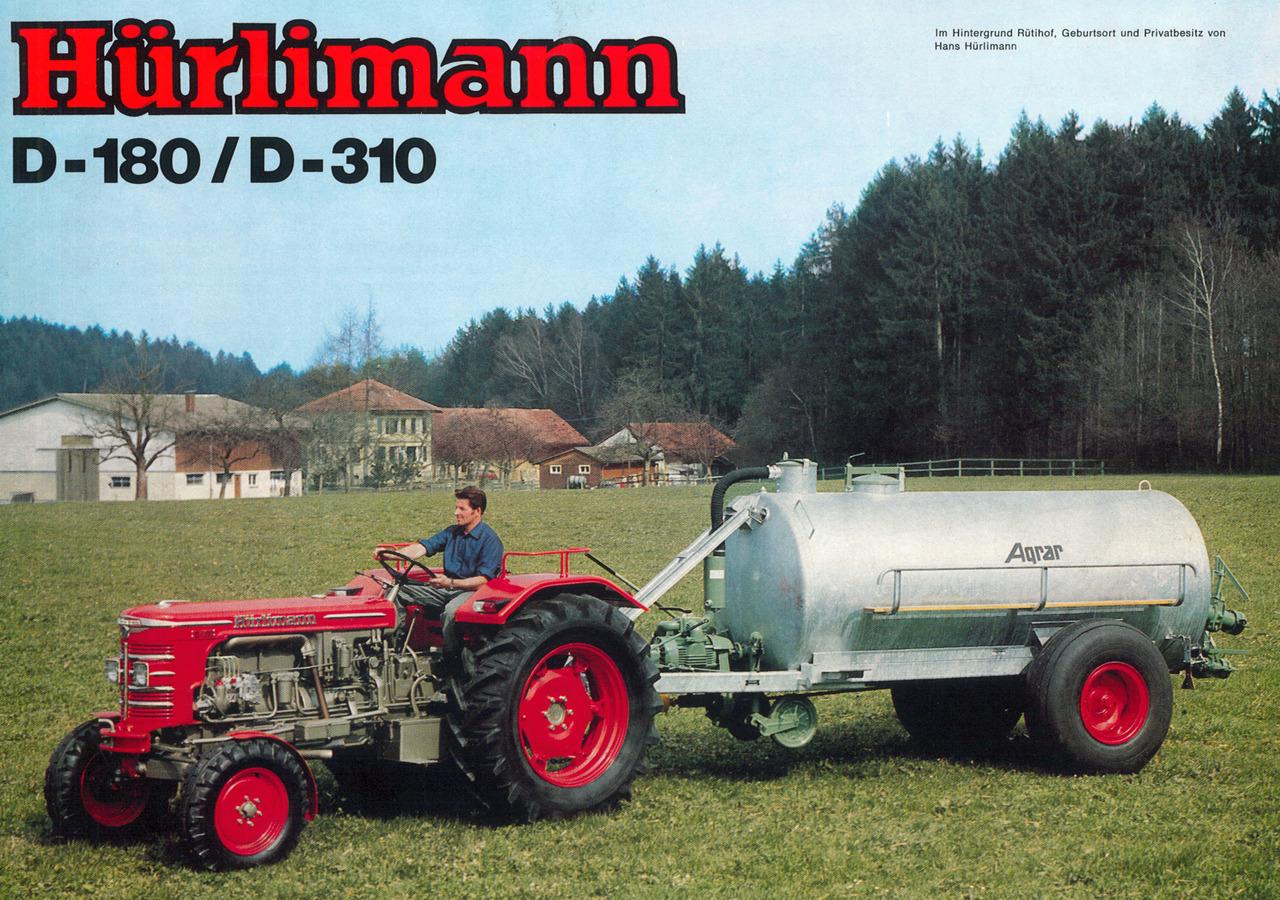 Hürlimann D-180 / D-310
