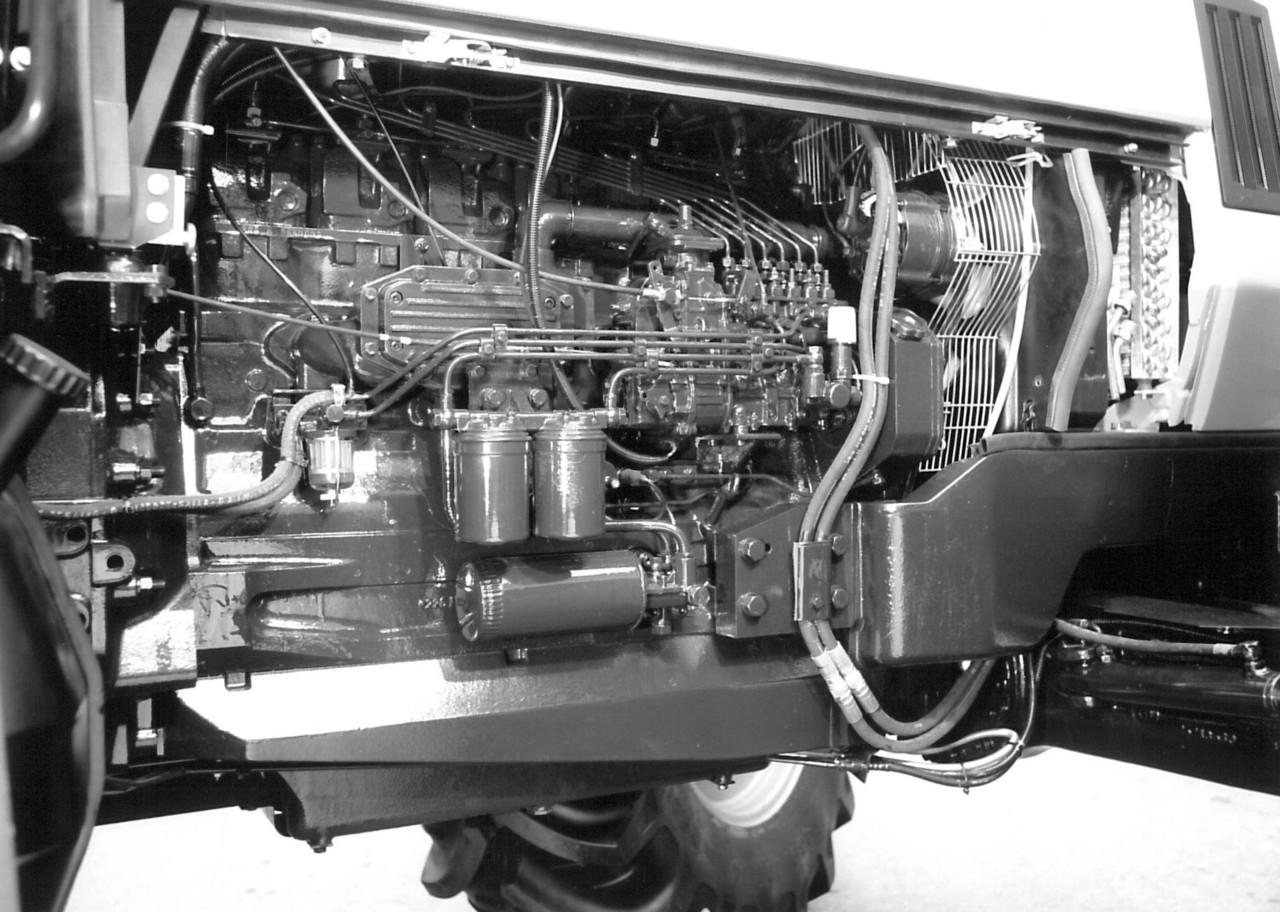 [Deutz-Fahr] particolari interni di un trattore