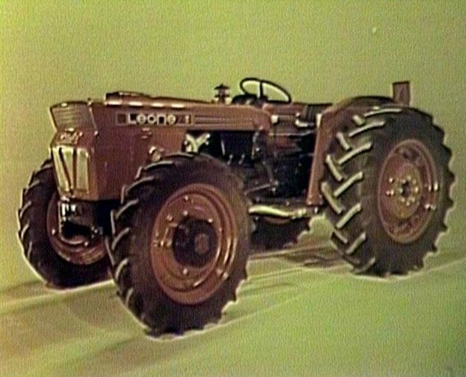 Ieri e oggi: presentazione trattore SAME Leone 70