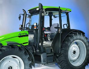 [Deutz-Fahr] trattori Agroplus 70 - 100 in campo, in studio fotografico e particolari