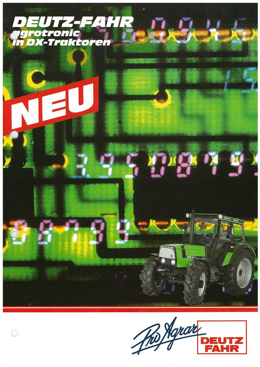 DEUTZ-FAHR Agrotronic in DX-Traktoren