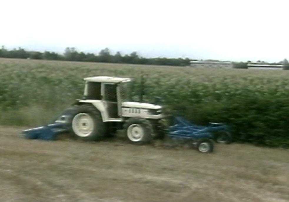 La preparazione del letto di semina con i trattori Lamborghini