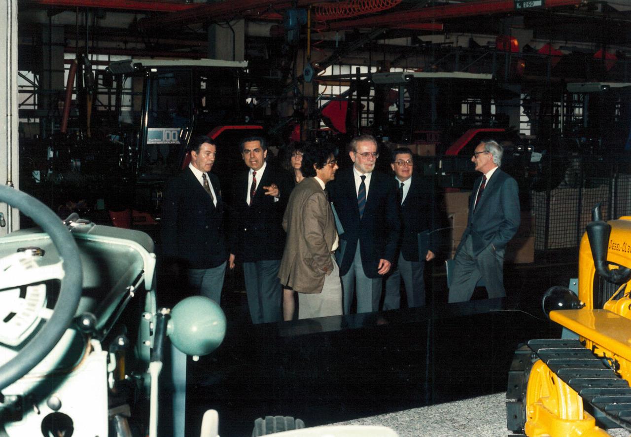 Visita presso lo stabilimento di Treviglio di un gruppo di clienti e prove in campo