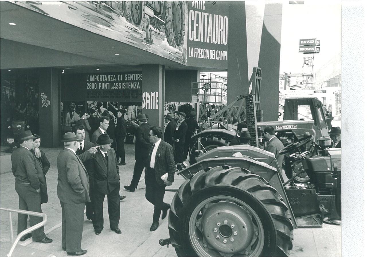 Fiera di Verona - Esposizione trattori SAME