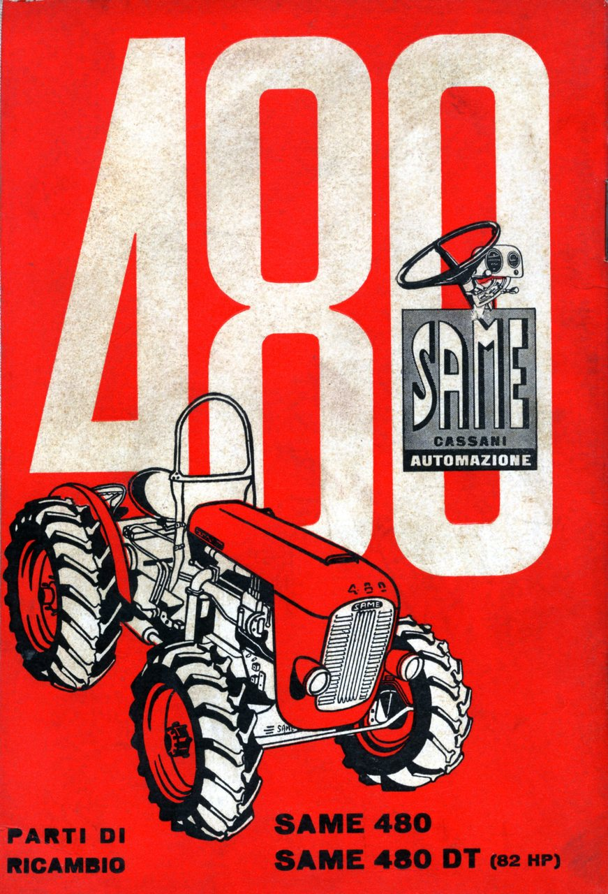 480 - 480 DT 82 HP - Catalogo ricambi originali