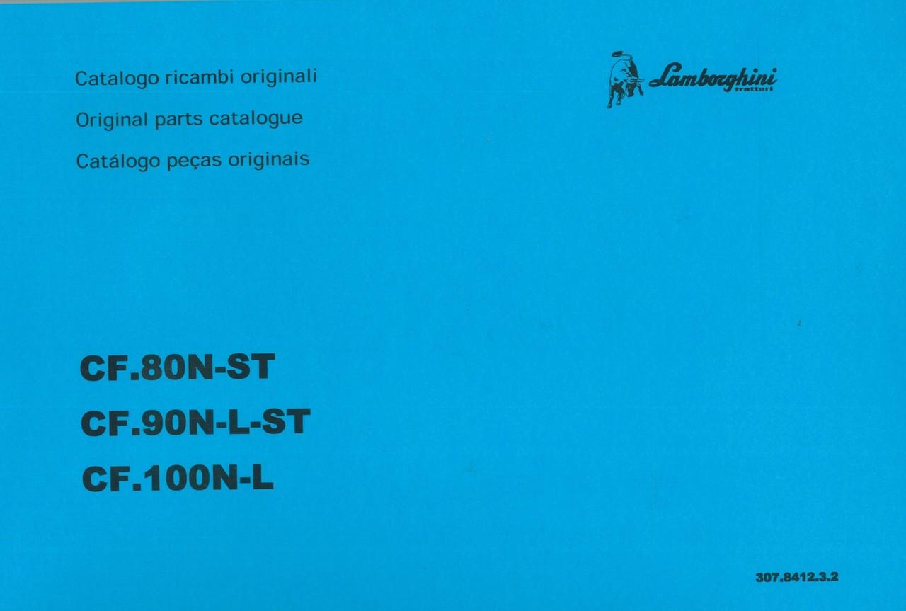 CF. 80 N-ST - CF.90 N-L-ST - CF.100 N-L - Catalogo ricambi originali / Original parts catalogue / Catalogo peças originais