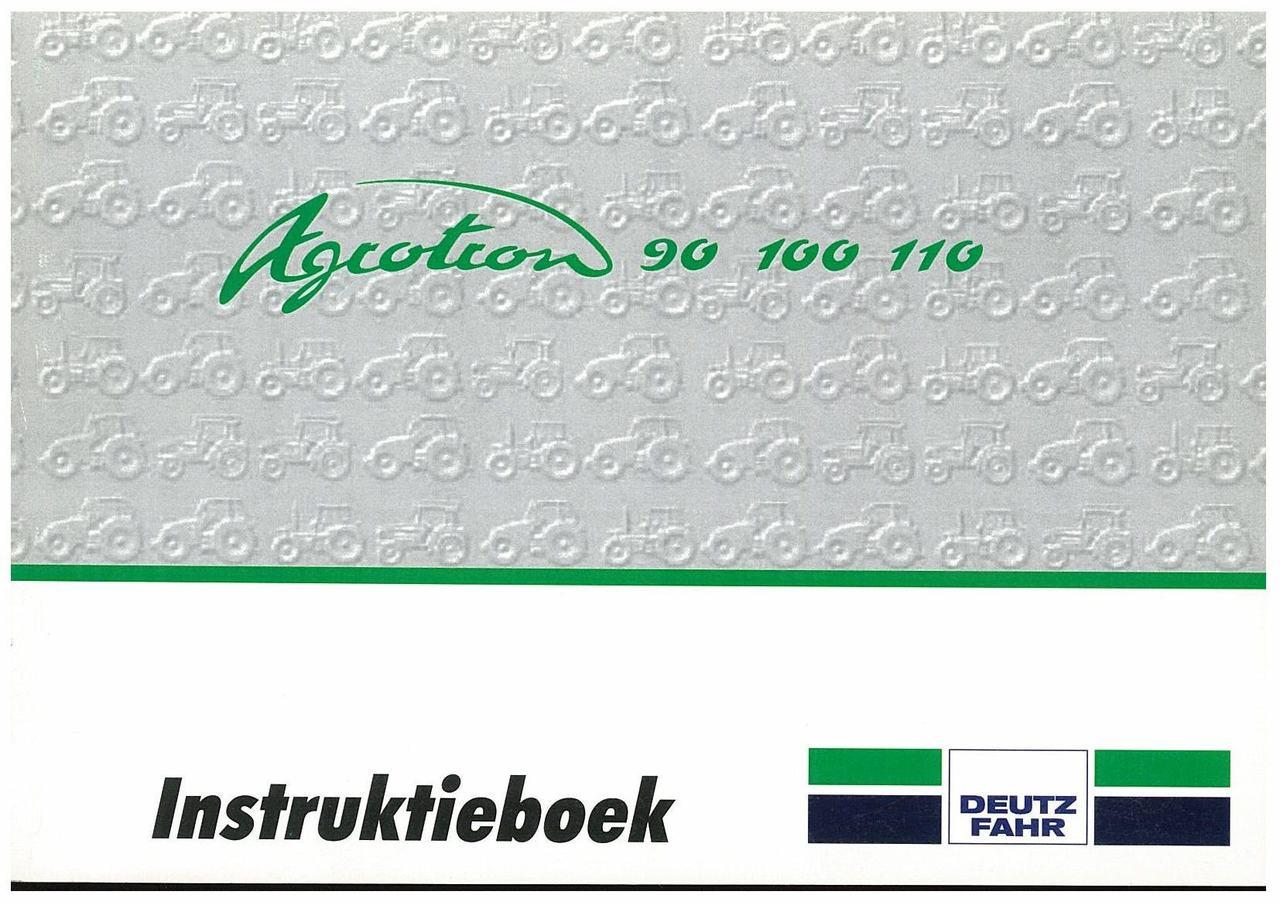 AGROTRON 90-100-110 - Gebruik en Onderhoud