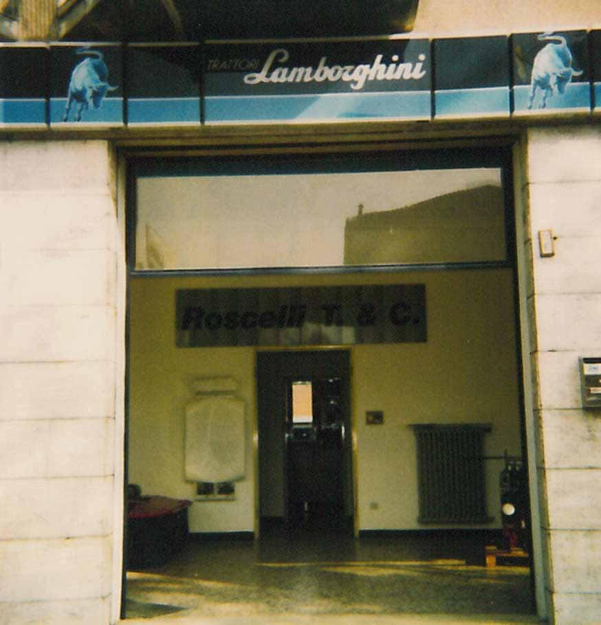 "Concessionario Lamborghini ""Roscelli T. & C."""