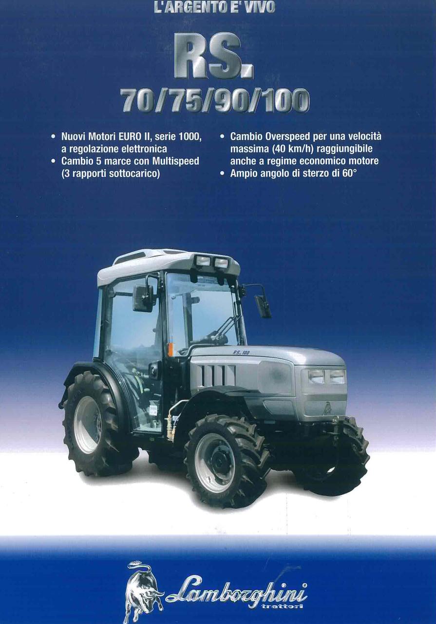 RS 70 - 75 - 90 - 100