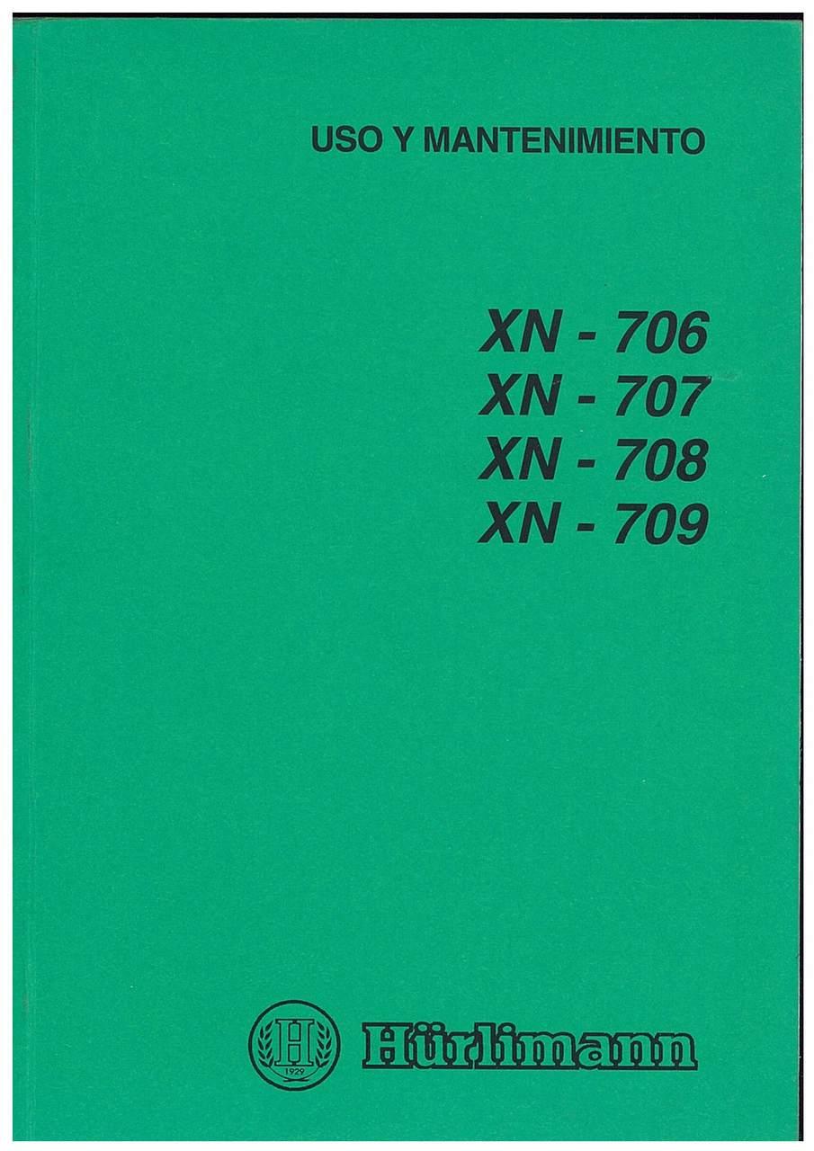 XN 706-707-708-809 - Uso y Mantenimiento