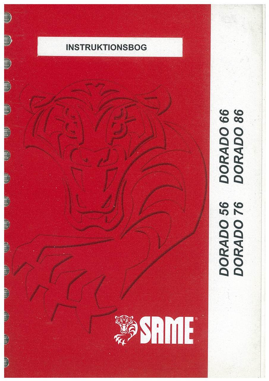 DORADO 56-66-76-86 - Instruktionsbog