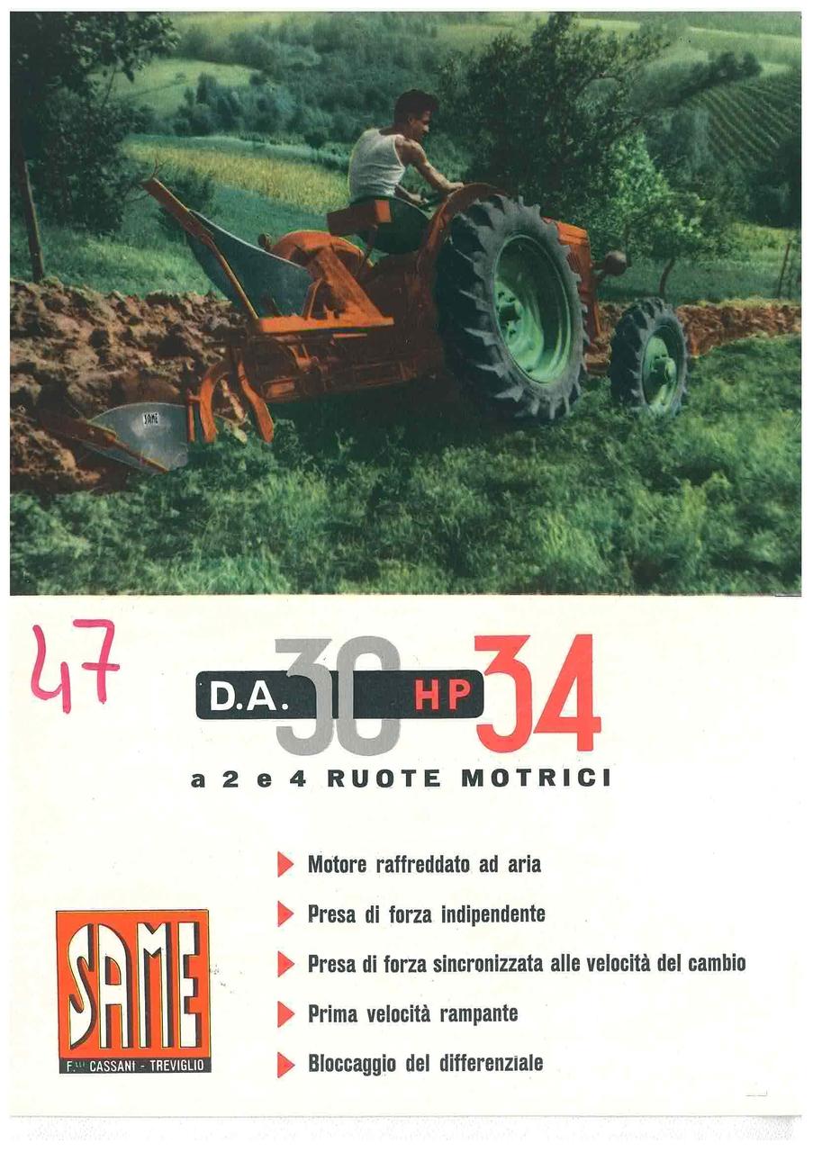 DA 30 HP 34