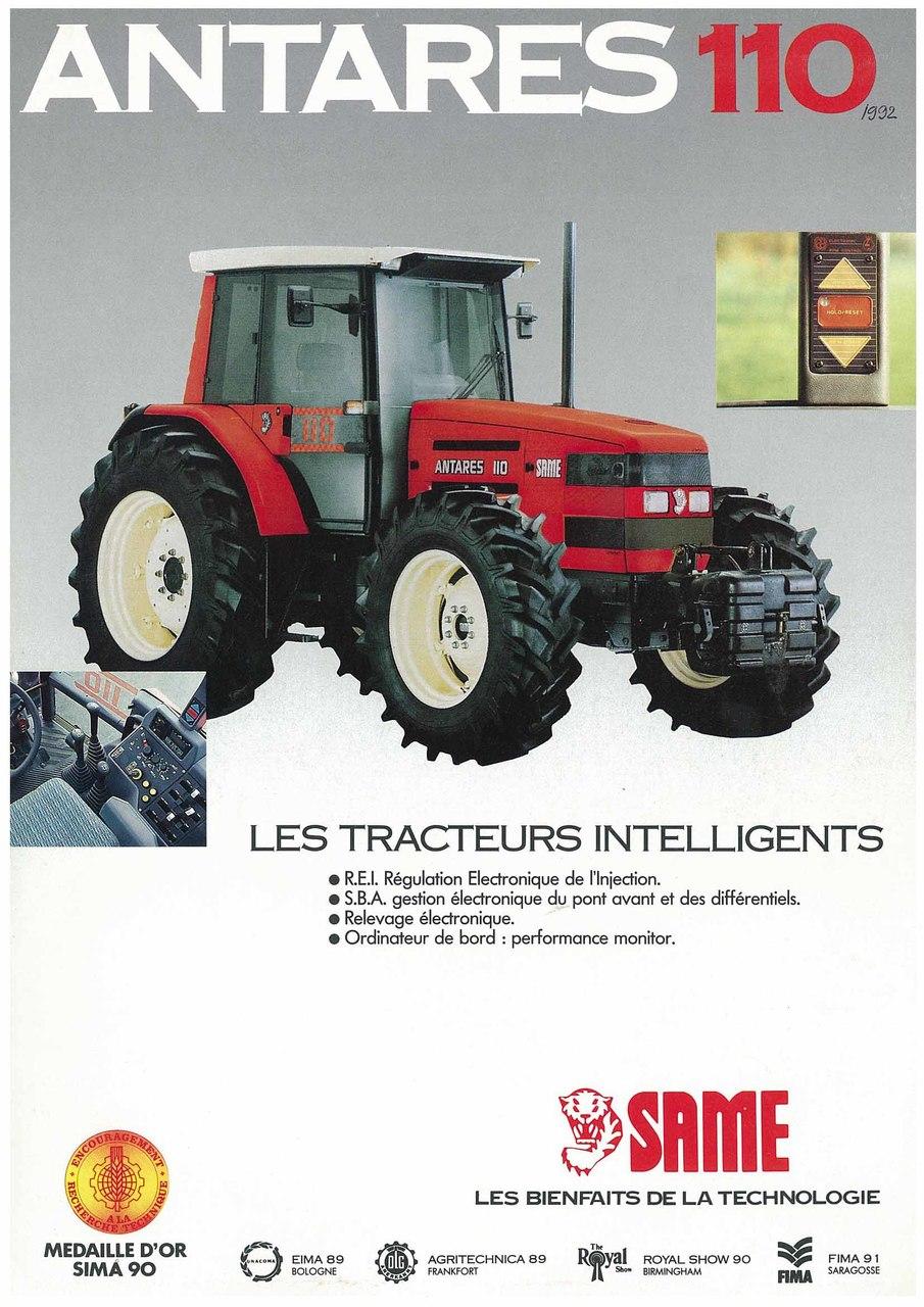 ANTARES 110 - Les tracteurs intelligents