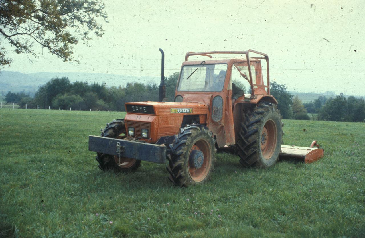 [SAME] trattore Corsaro 70 con barra falciante
