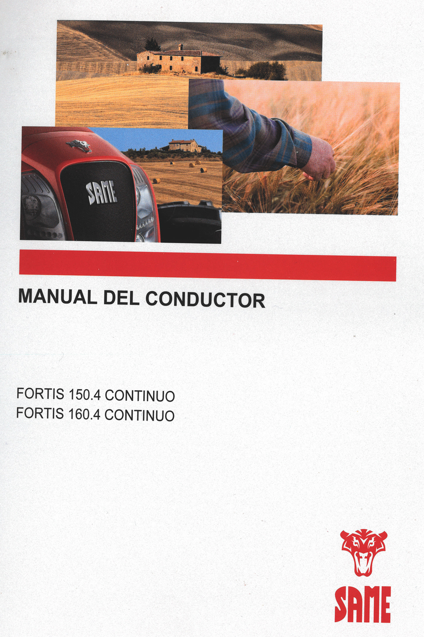 FORTIS 150.4 CONTINUO - FORTIS 160.4 CONTINUO - Manual del conductor