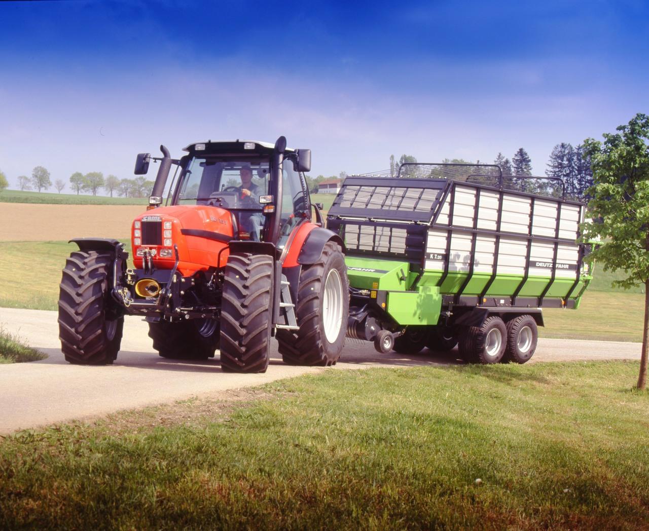 [SAME] trattore Iron 165 S