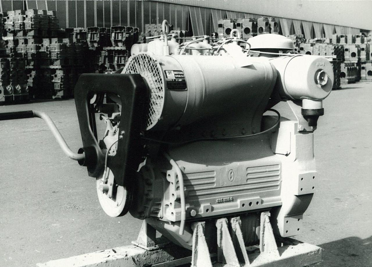 Motore SAME/ADIM per uso industriale - 3 cilindri