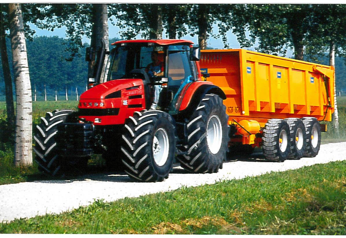 Trattore SAME Rubin 200 con trasporto