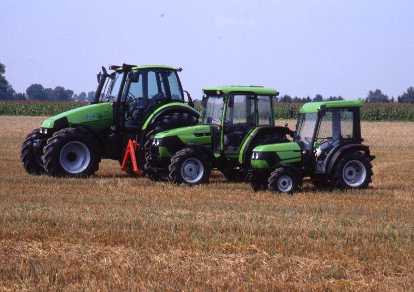 [Deutz-Fahr] trattori Agrotron 150, Agroplus 60 e Agrokid