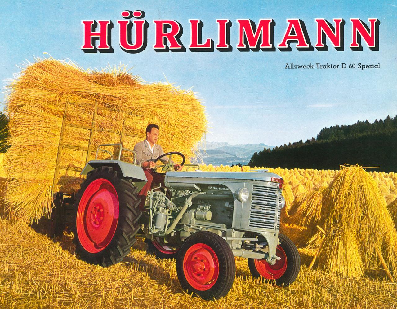 Hürlimann - Allzweck-Traktor D 60 Spezial