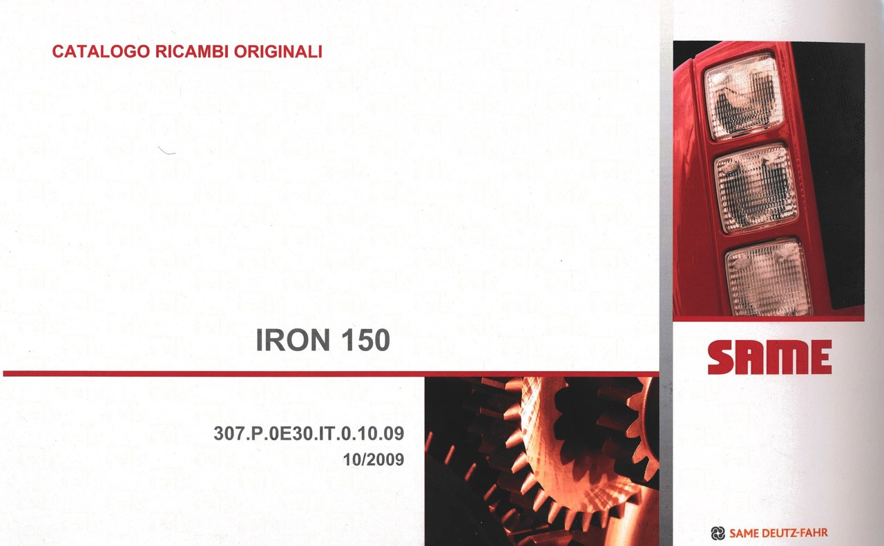 IRON 150 - Catalogo ricambi originali