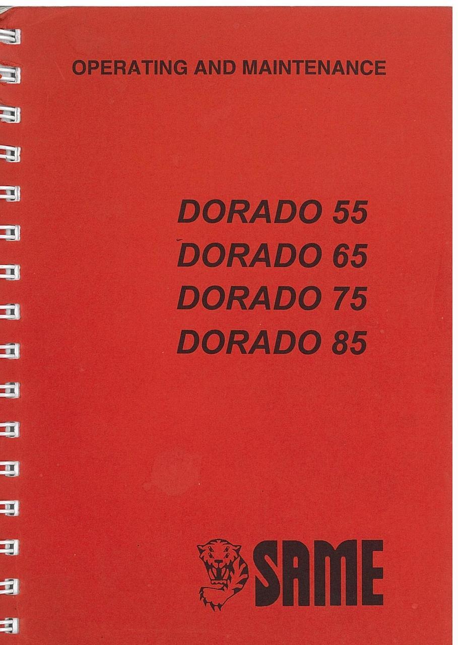 DORADO 55 - 65 - 75 - 85 Operating and maintenance