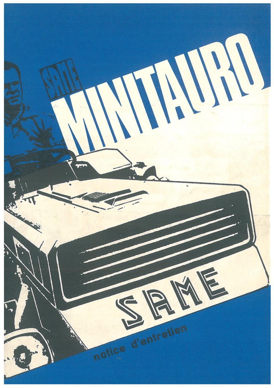 MINITAURO 50 - Utilisation et entretien