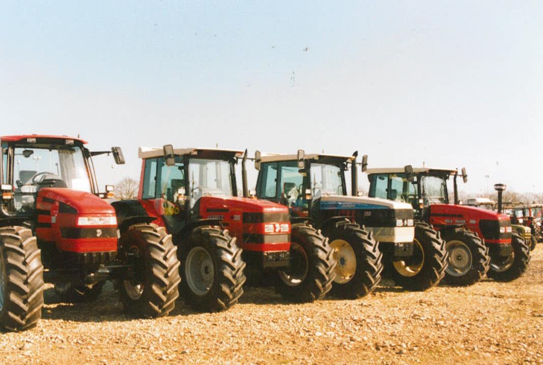 Trattori SAME Rubin 135, Antares II, Silver 100.6 e Lamborghini Racing 150