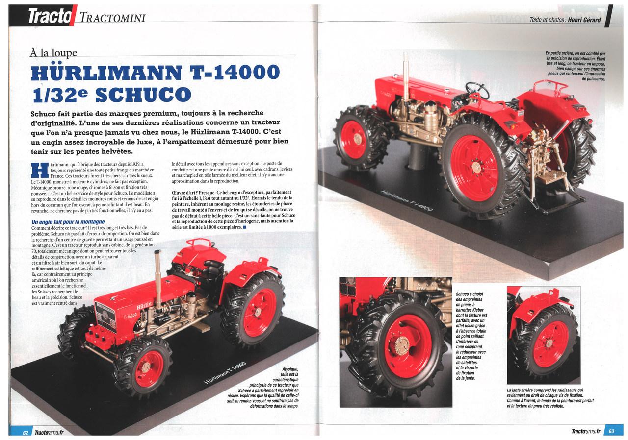 HÜRLIMANN T-14000 1/32 SCHUCO