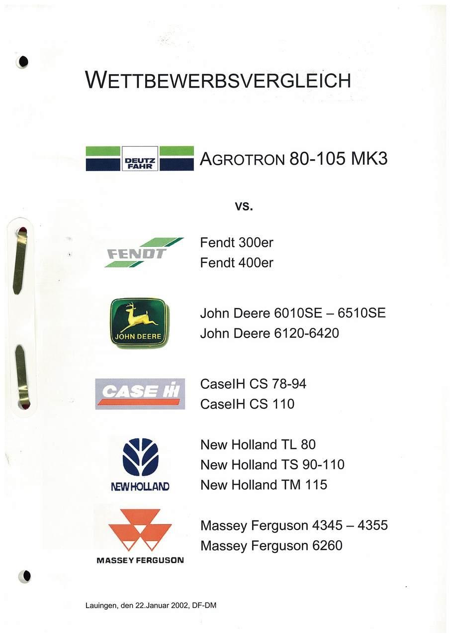 Agrotron 80-105 MK3 vs ...
