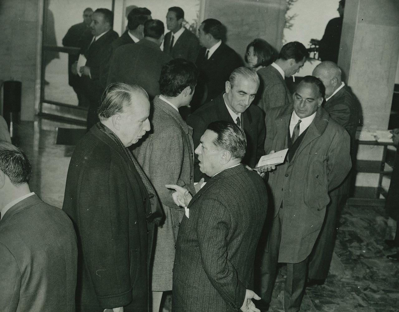 Ing. Francesco Cassani e l'importatore olandese CEBECO