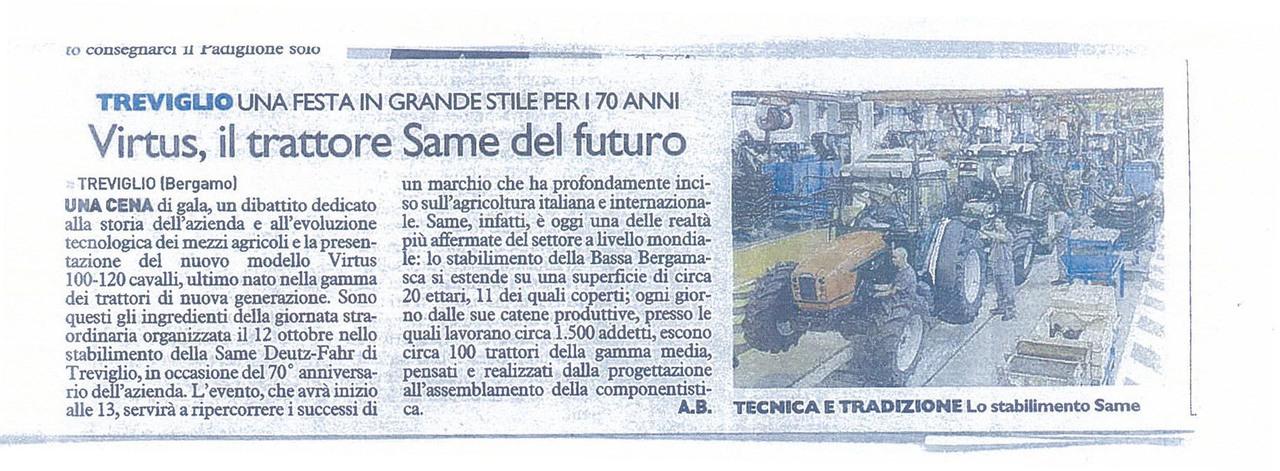 Virtus il trattore SAME del futuro