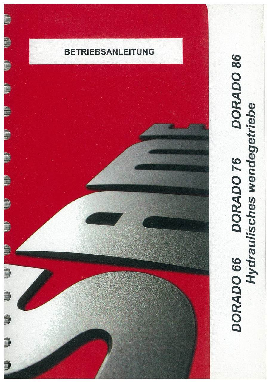 DORADO 66-76-86 - betriebsanleitung