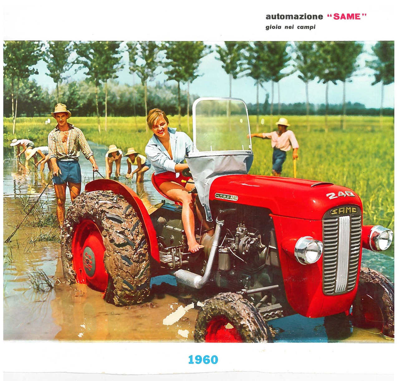 Calendario SAME 1960