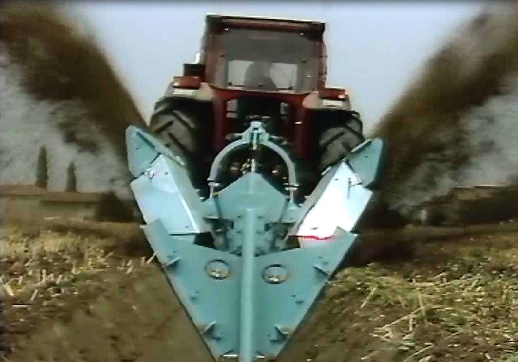Le lavorazioni pesanti del terreno