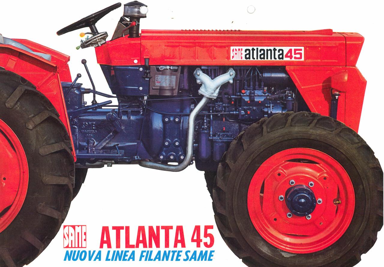 ATLANTA 45 - Nuova linea filante SAME