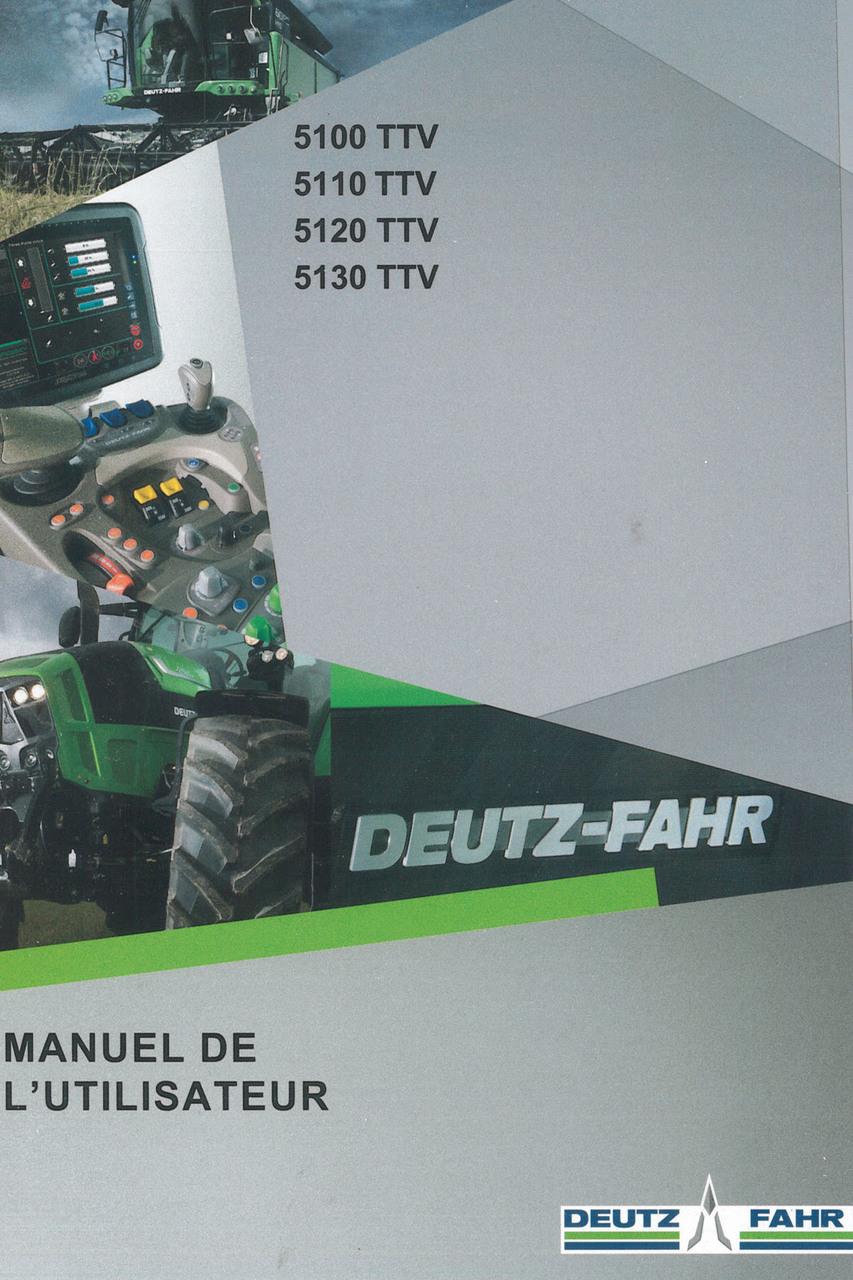 5100 TTV - 5110 TTV - 5120 TTV - 5130 TTV - Manuel de l'utilisateur