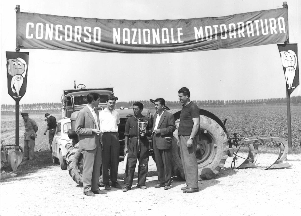 Trattori SAME al IV Concorso Nazionale di Motoaratura di Baricella (Bologna)