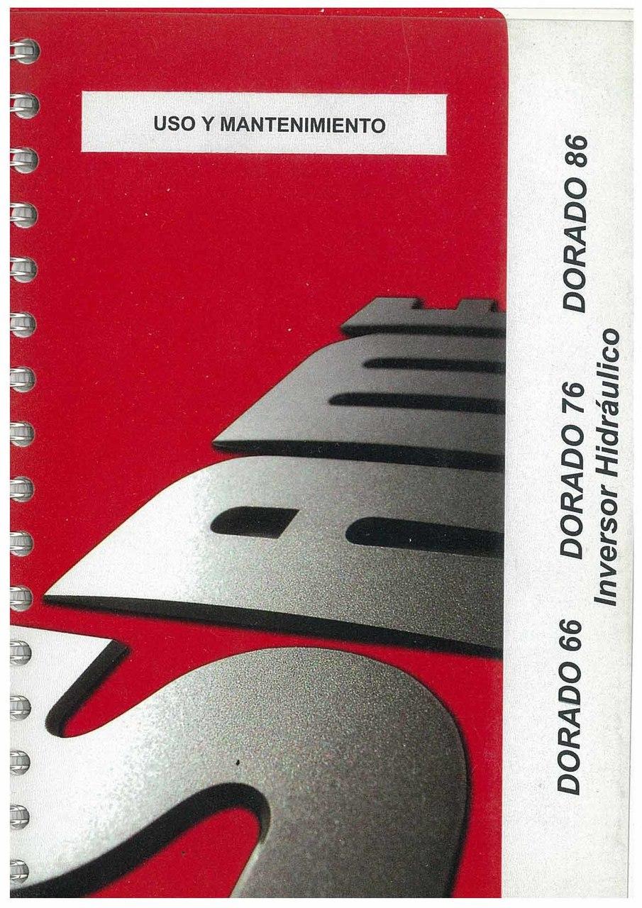 DORADO 66-76-86 - Uso y manutencion