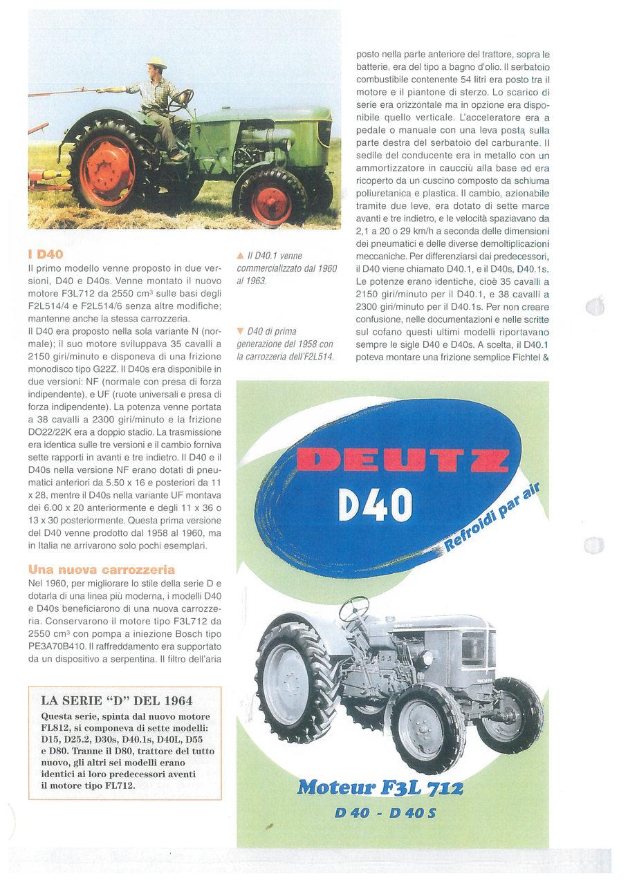 Deutz D40 - nella corte dei grandi