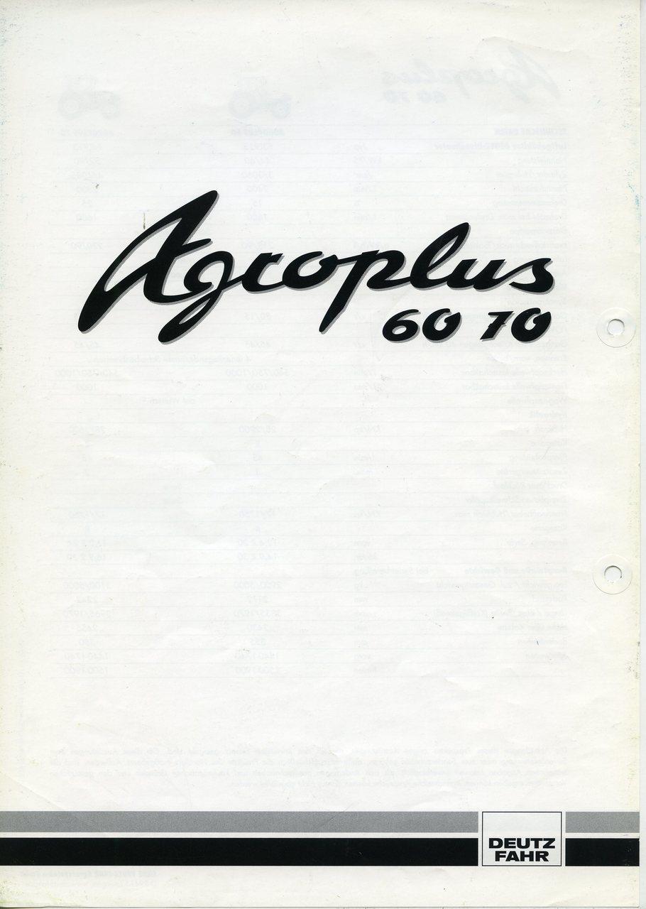 AGROPLUS 60 - 70