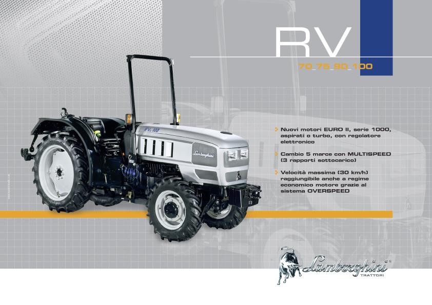 RV 70 - 75 - 90 - 100